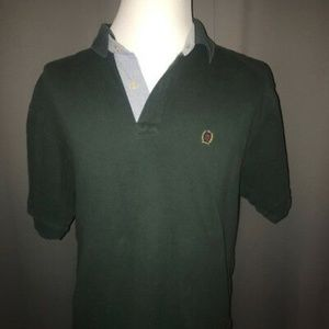 Vintage Tommy Hilfiger Polo Shirt XL Dark Green
